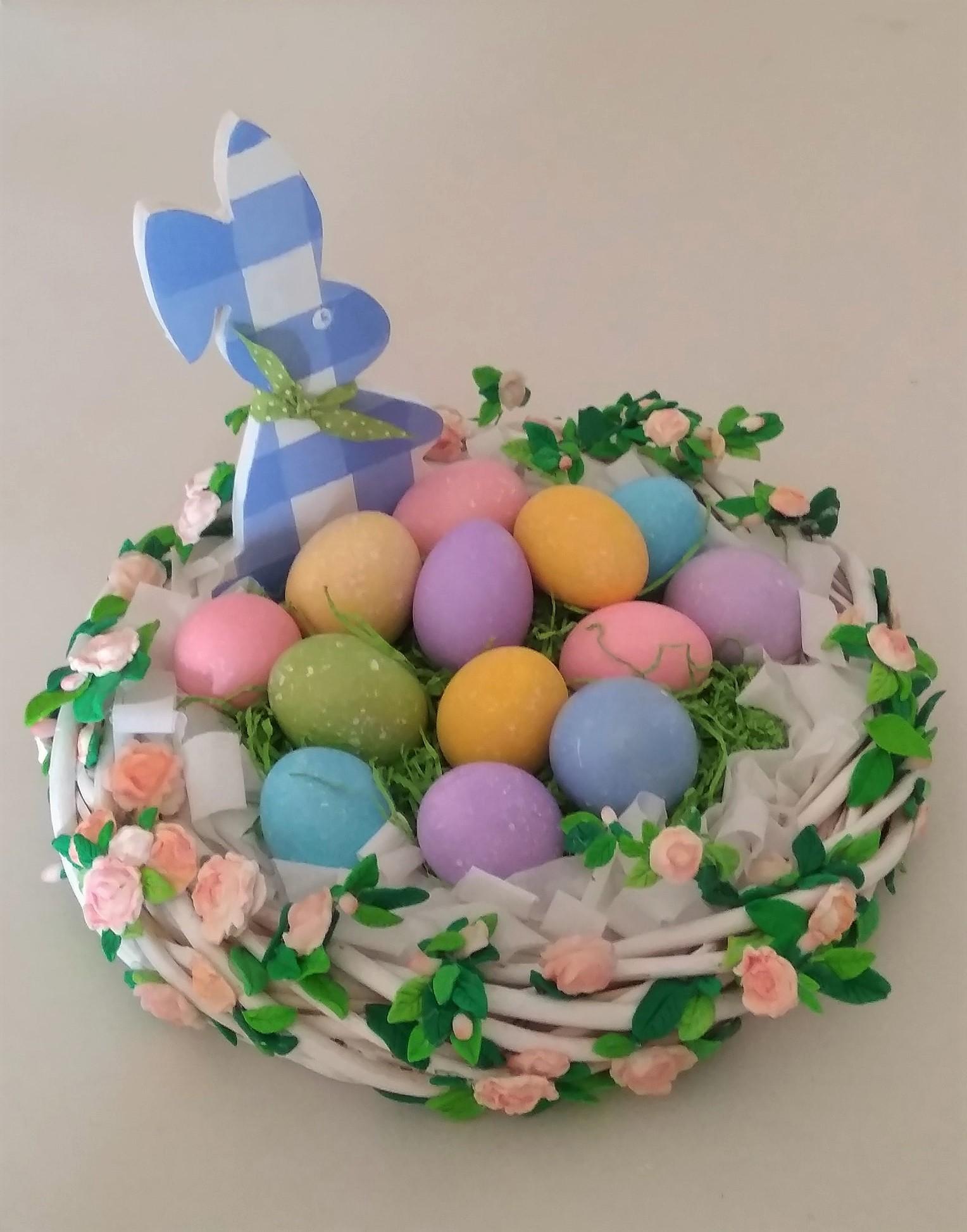 Καλάθι Με Αυγά